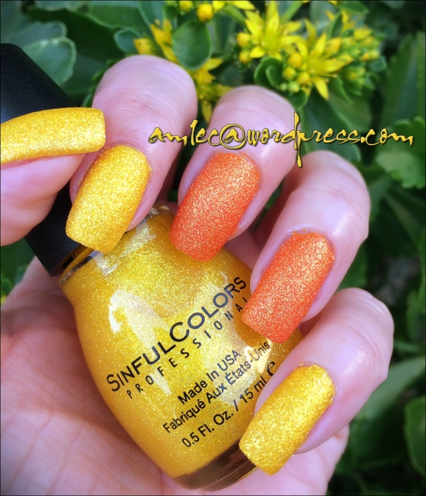 Sinful Colors- Face the Facets - Orange Crush