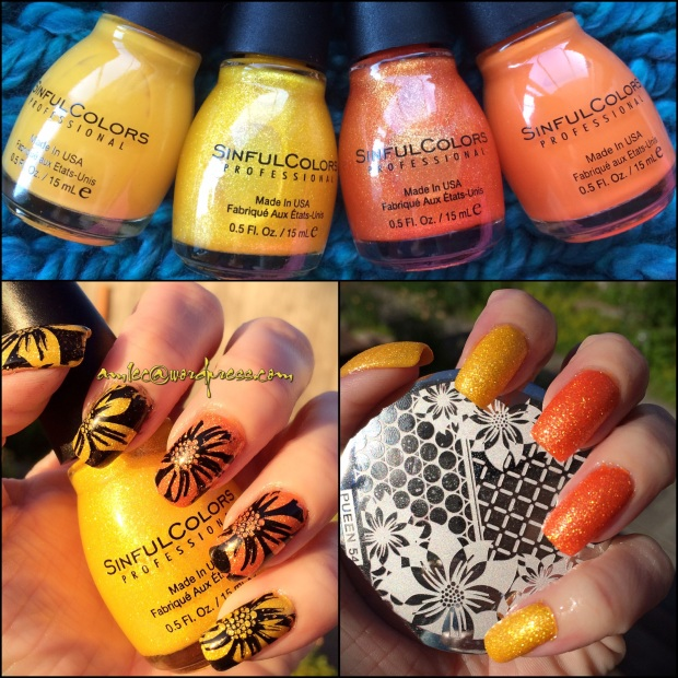 Sinful Colors- Face the Facets - Orange Crush - Pueen 54