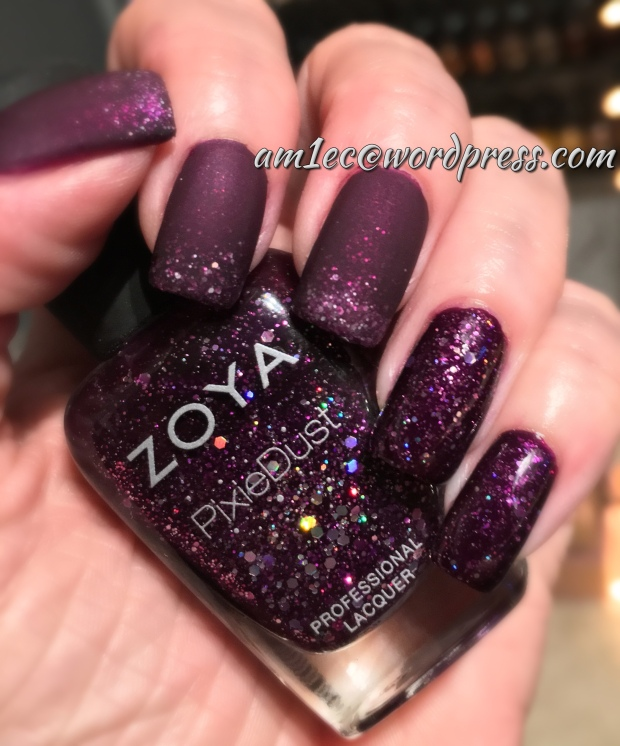 Zoya Iris and Pixie Dust Thea